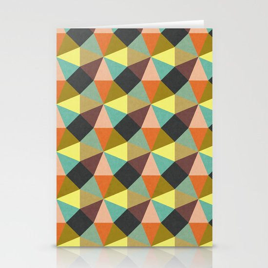 Simply Symmetry Stationery Cards