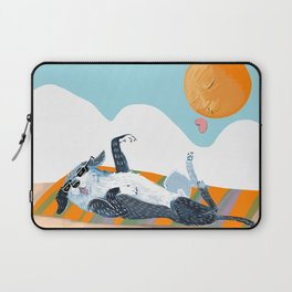 Angel on SummerTime Laptop Sleeve