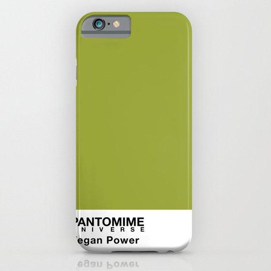 VEGAN POWER iPhone & iPod Case