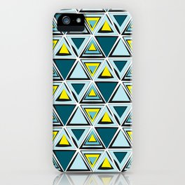 Tribal print iPhone Case
