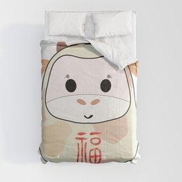 Moo moo Daruma Comforters