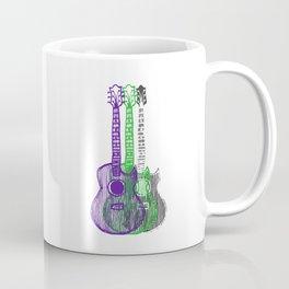 Guitars Two Coffee Mug
