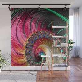 Electric Shell Wall Mural