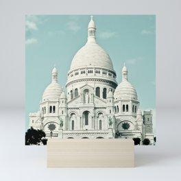 Paris Photography Sacre Coeur Montmartre France Europe Mini Art Print