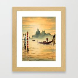 Venice Italy Grand Canal Framed Art Print