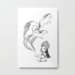 Spirits Metal Print