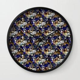 Stuff Tile 1 Wall Clock