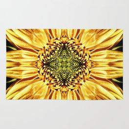 Sunflower Manipulation Rug