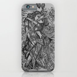 Good Luck Series: Radha-Krishna iPhone Case