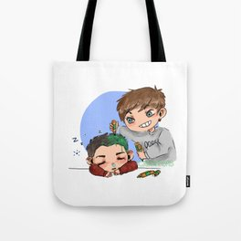 green hair dont care Tote Bag