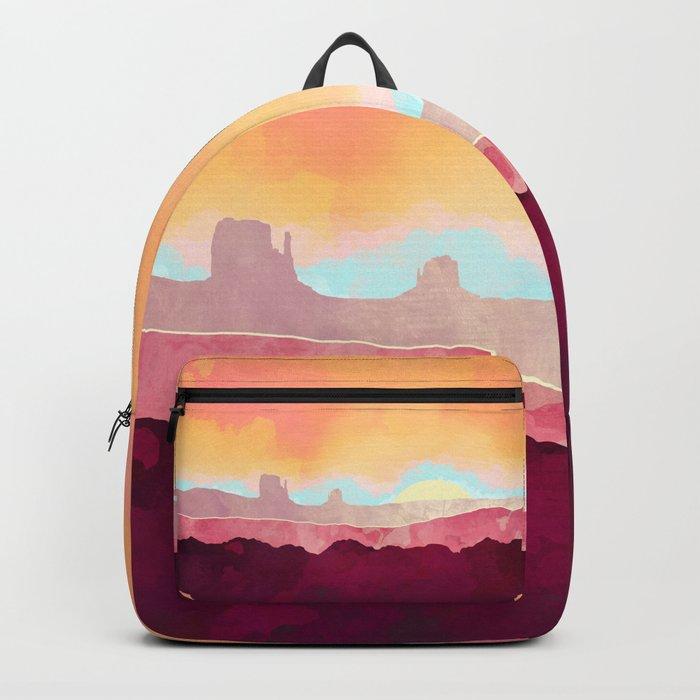 Scarlet Desert Backpack