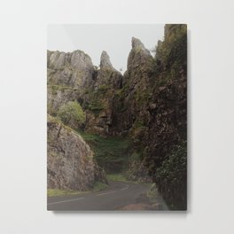 Cheddar Gorge 2 Metal Print