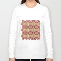 lace Long Sleeve T-shirts featuring lace by Isabella Asratyan