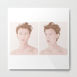 Henrik Holm illustration #3 Metal Print
