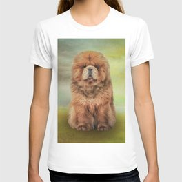 Drawing dog chow chow T-shirt