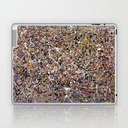 Intergalactic - abstract painting by Rasko Laptop & iPad Skin