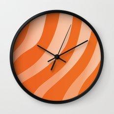 Salmon Sashimi Wall Clock