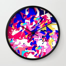 Jumble Wall Clock