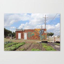 Keep It Simple Mural Canvas Print