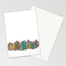 The Aen'U People Stationery Cards