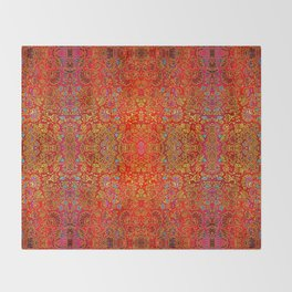 Abstract sparkle beautiful samples Throw Blanket