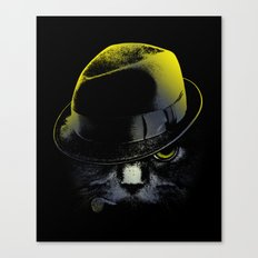 The Alley Cat Canvas Print