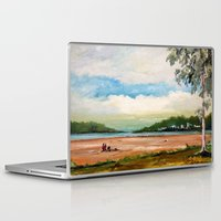 cleveland Laptop & iPad Skins featuring Cleveland by Helen Syron