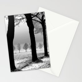 Snowy Day in the Country Stationery Cards