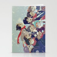 haikyuu Stationery Cards featuring Haikyuu!! by x3uu