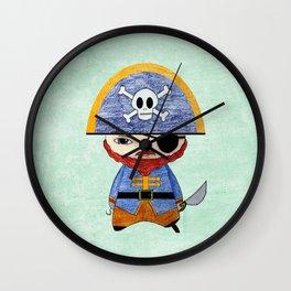 A Boy - Pirate Wall Clock
