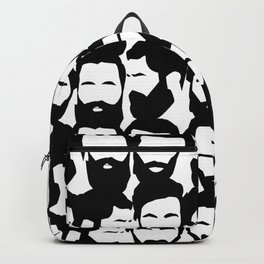 Beard are sexy_black n& white Backpack