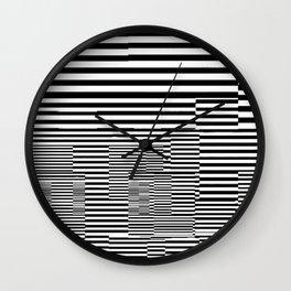 Clubist Tubes Wall Clock