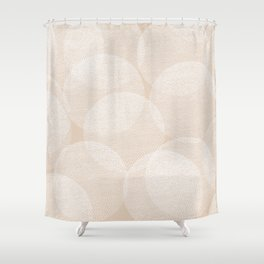 Cosy Circles 1 Shower Curtain