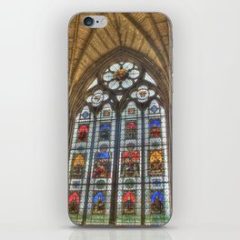 Windows of Westminster Abbey iPhone Skin