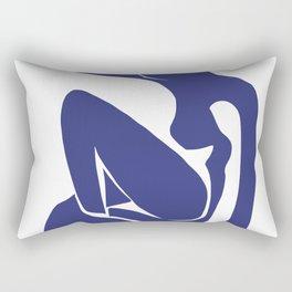 Matisse Cut Out Figure #1 Rectangular Pillow