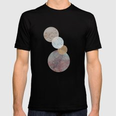 Connected Black Mens Fitted Tee MEDIUM
