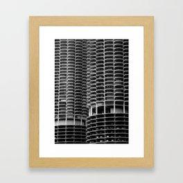 Chicago Marina City Framed Art Print