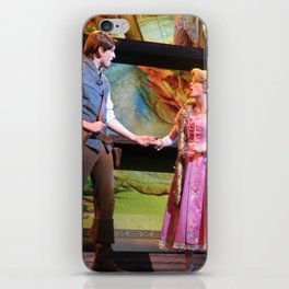 Flynn Rider and Rapunzel singing, Mickey and the Magical Map at Disneyland iPhone Skin