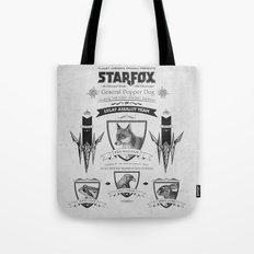 Star Fox Vintage Poster Geek Line Artly Tote Bag