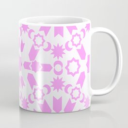 Pink Arabesque Coffee Mug