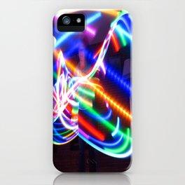 LED Hula Hooping iPhone Case