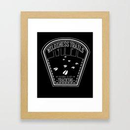 Patience Is Key - Black & White Framed Art Print