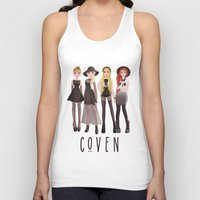 coven Tank Tops featuring Coven by archibaldart