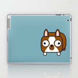Boston Terrier Loaf - Red Brown Boston Dog Laptop & iPad Skin