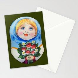 Digital Matrioska Stationery Cards