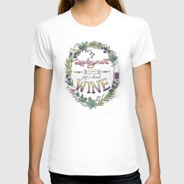 Deployment is Hard. Let's Drink Wine. T-shirt