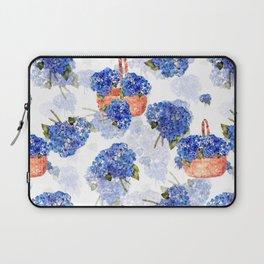 Cape Cod Hydrangeas and Baskets Laptop Sleeve