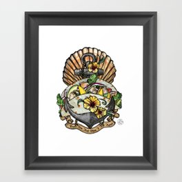 Taco Bout Love Framed Art Print