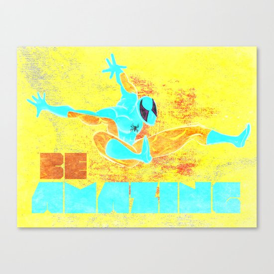 Be Amazing! Canvas Print