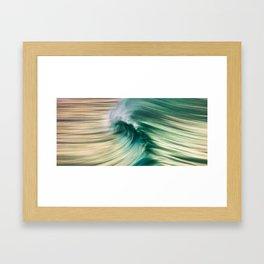 Wave Art 1 Framed Art Print